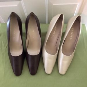 Leather Pumps Lot of 2 Pairs Will Accept Offer